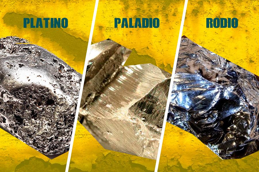 metales del grupo del platino