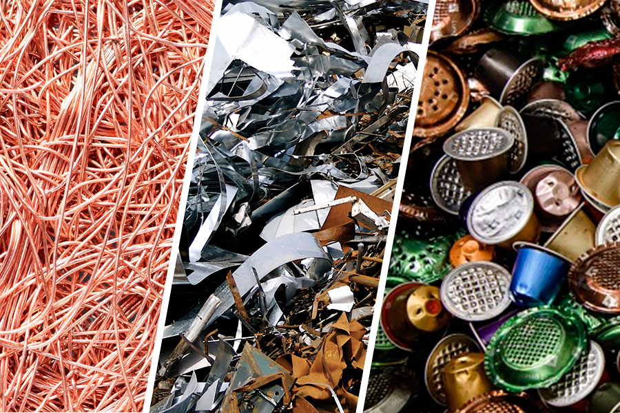 Metales recyclables